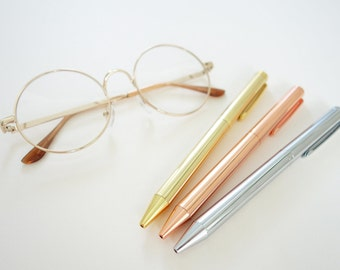 Signature Pen // Gold Pen // Silver Pen // Rose Gold Pen // Stainless Steel Pen // Gifts // Classy Pen // Lunarbaystore.com