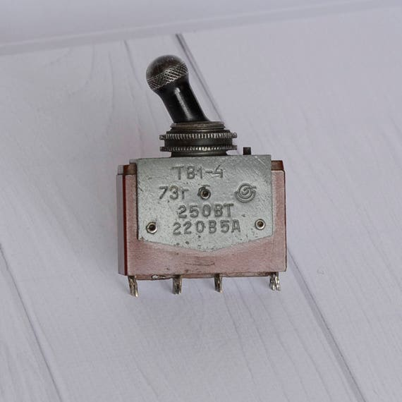 Toggle Switch electrical switch switches toggle soviet