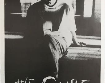 Wall Art, Vintage Music Poster, Robert Smith, The Cure, Why Can't I Be You 1993 British Import Poster 23 X 35