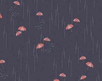 Fabric by the yard- Cotton quilting fabric rainbrella Shadow-Amy Sinibaldi-- Art Gallery- quilting and sewing fabric- summery fun fabric