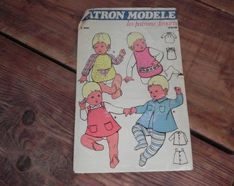 For children 6 months vintage sewing patterns