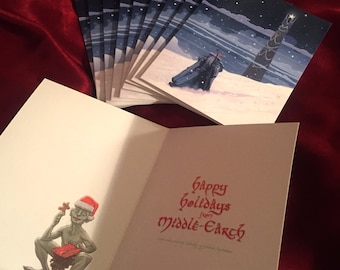 Middle-Earth 10 PACK Christmas Cards