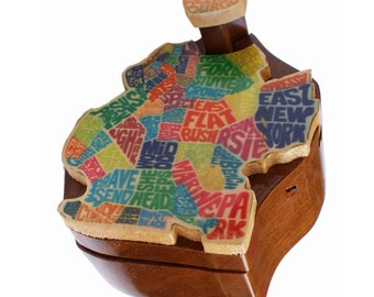 Brooklyn Wooden Puzzle Box