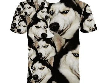 9gag etsy 9gag meme funny upset siberian husky doge animal cute t shirts women men top tees short sleeves gumiabroncs Choice Image