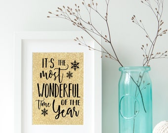 It's The Most Wonderful Time Of The Year Digital Print