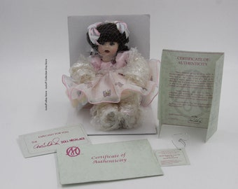"""Marie Osmond Fine Collectibles """"Susie Butterfly"""" tiny tot W/ COA"""