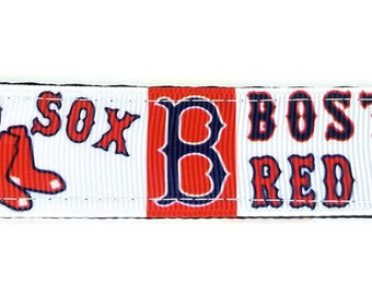 Boston Red Sox Keychain - Wristlet Keychain, Key Fob, Wrist Keychain