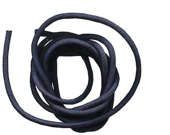 20 cm cord 4mm fabric dark denim