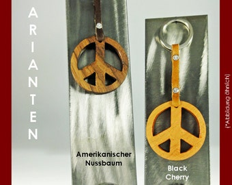 Key ring peace from noble Woods