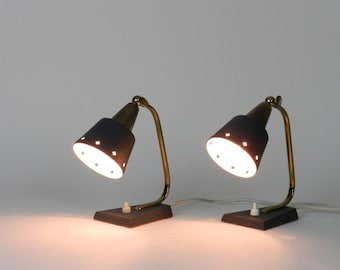 Pair of petit Mid Century Modern Lamps, 1960s