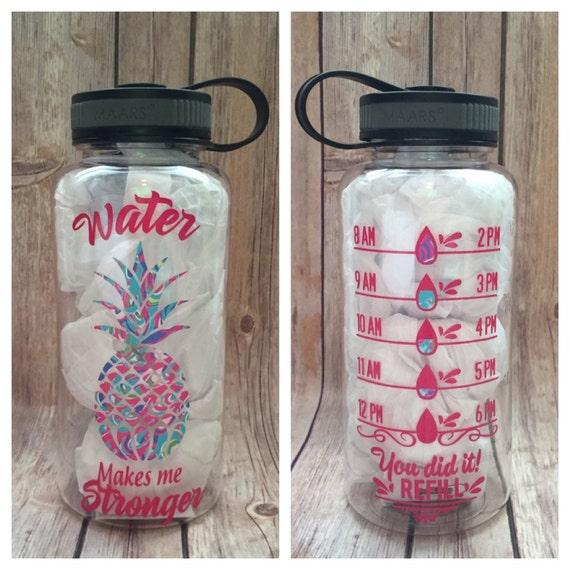 Water bottle water bottle tracker keep track water gym