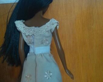Dress for Barbie