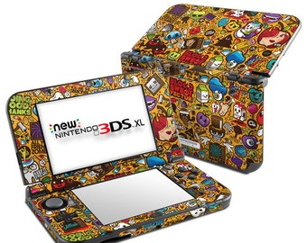 Nintendo 3DS XL Skin - Psychedelic by JThree Concepts - Sticker Decal Wrap - Fits New and Original