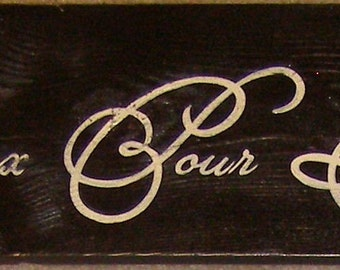 Heuruex Pour Toujours French Decor Sign Plaque Happily Ever After Rustic Cottage Farmhouse Hand Painted Wooden U Pick Colors