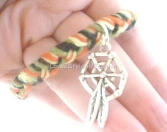 Gypsy Bracelet Multicolor - Bohemian Bracelet - Stack Bracelets - Womens Bangle Bracelet - Charm Bracelet - Bangle Bracelet