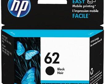 HP 62 Black Ink Cartridge - C2P04AN#140