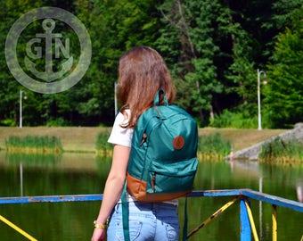 Fabric Backpack, Laptop Backpack,  Mini Backpack, Сhild backpack, Canvas Backpack, School Backpack, Vegan Backpack, Mens Backpack, Rucksack