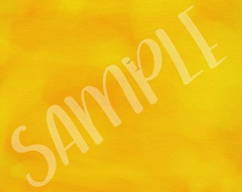 Watercolour in Oranges on Canvas - Background 7