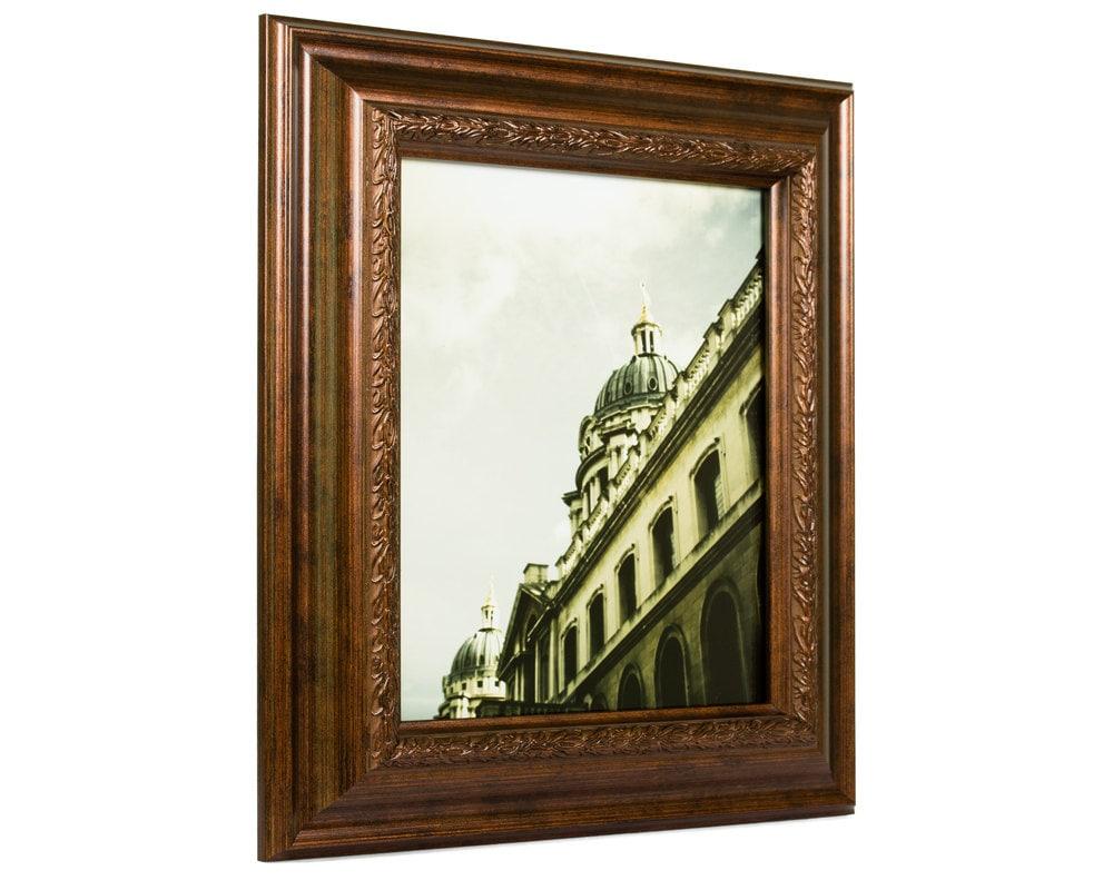 Craig Frames, 12x18 Inch Smoked Bronze Picture Frame, Pompeii, 2.25 ...