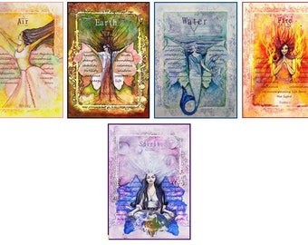The Elemental Goddess Oracle Card Deck