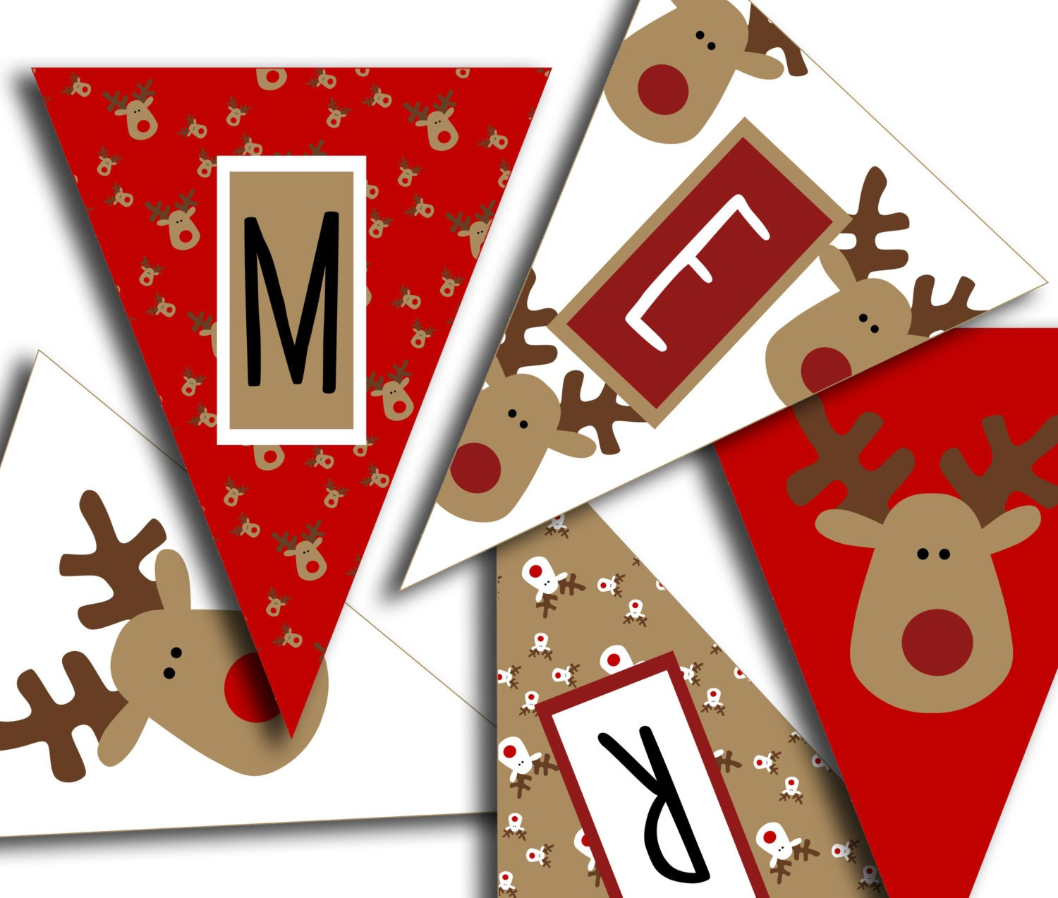 Free printable merry christmas banner letters perfect letter banner maxwellsz