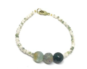 Green bracelet - neutral bracelet