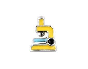 Microscope Floating Charm