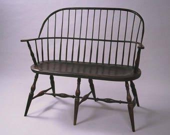 windsor boston settee bench