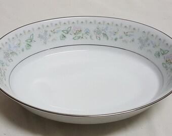 Vintage Noritake China Spring Song Pattern Serving Dish
