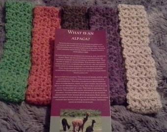 Alpaca hand made super soft headbands