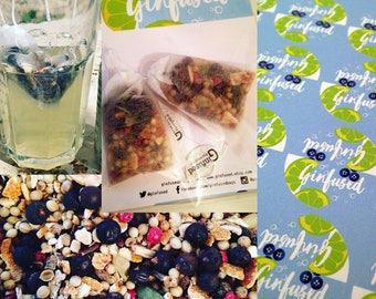 Ginfused - Gin Flavoured Botanical Infusion Bags. Pack of 2.