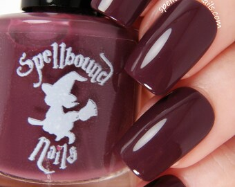 Bewitched - Dark Burgundy Red Creme Nail Polish