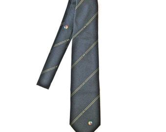 "Vintage men's necktie Blue men's tie ""Renie Leide"" Made in Germany 90s"