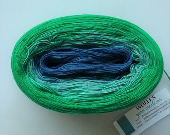 GROWTH II --  Color Changing Cotton yarn --  480 yards/100 gr --  Fingering Weight