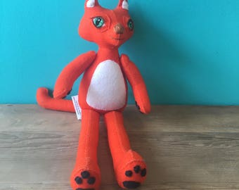 Marmalade the Cat-Creatures By Hetty Jean