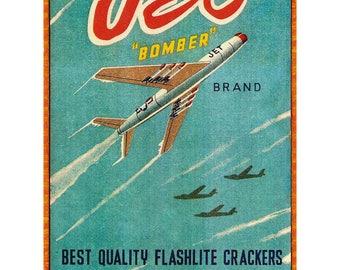 """Poster - """"Jet"""" - Matchbox - 1954 - fine art gallery"""