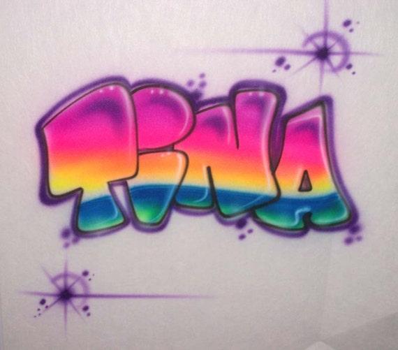 Graffiti Kaylee Coloring Page