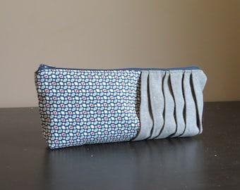 Pencil Pouch, Zippered Bag, Make-up Case, PouchPencil Pouch, Zippered Bag, Make-up Case, Pouch