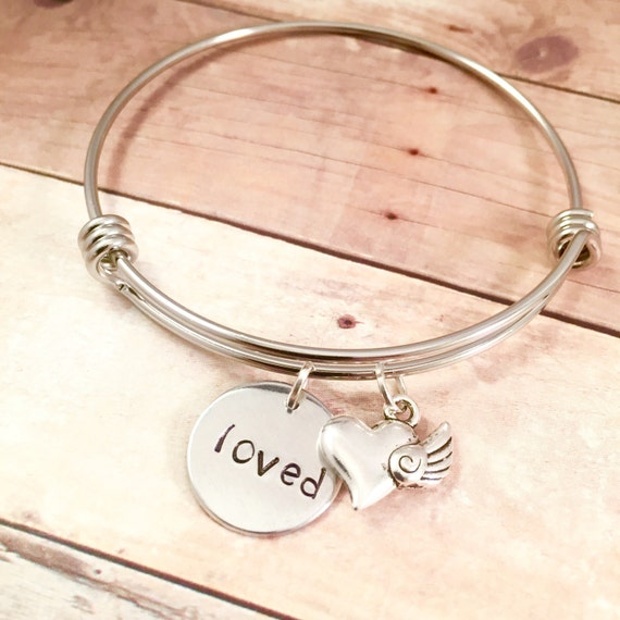 Loved Bracelet Heart Girlfriend Charm