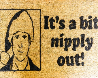 Clark Griswold - funny doormat - welcome mat - outdoor coir mat -Christmas Vacation - National Lampoon - Cute Doormat - Christmas Decor