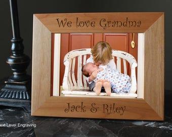 Mothers Day Gift for Grandma Frame, Grandparent Gifts, Personalized Grandmother Gift, Mother Gift from Grandkids