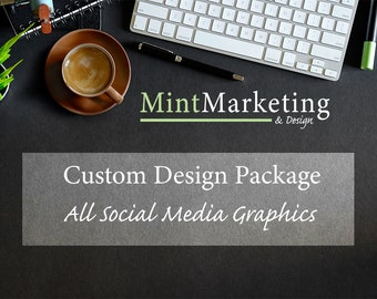 Digital Marketing Graphics Package *MADE TO ORDER*