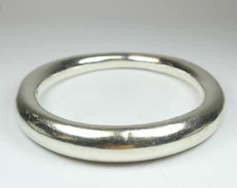Minimalist Sterling Silver Bangle