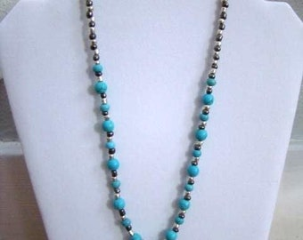 Necklace with Turquoise Charm