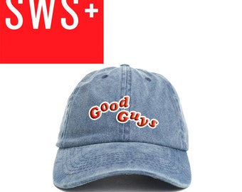 Embroidered Good Guys Chucky Childs Play Denim Adjustable Dad Hat Great Gift
