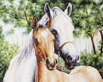 Mother and Child SB521 - Cross Stitch Kit by Luca-s