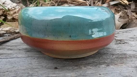 Calm Seas Ceramic Wood Fired Bowl