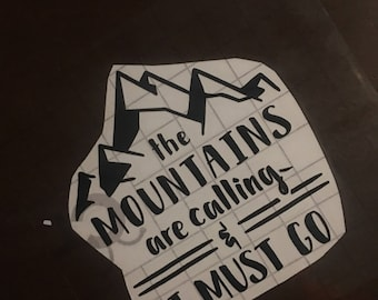 the mountains are calling vinyl