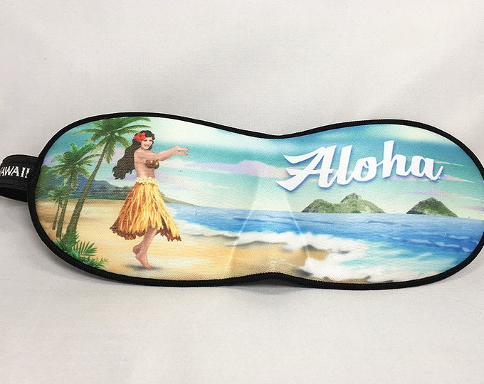 Aloha Hawaii Sleep Mask Blindfold