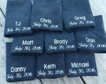 Personalized Microfiber Face Cloth, Make up cloth, Spa Party Favor, Personalized Washcloth, Groomsmen Gift, Bridesmaids Gifts, Party Favors